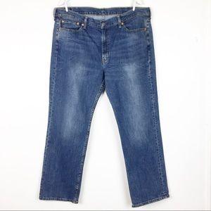 Levi's 514 Size 40 Light Medium Wash Jeans